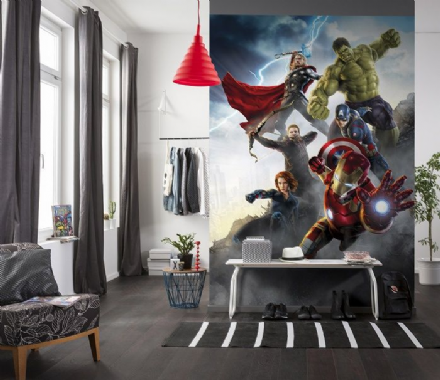 Avengers Age of Ultron wall mural wallpaper